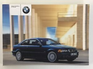 bmw 3 series e46 owners manual owners guide owners handbook 99 rh ebay co uk BMW E90 BMW E36