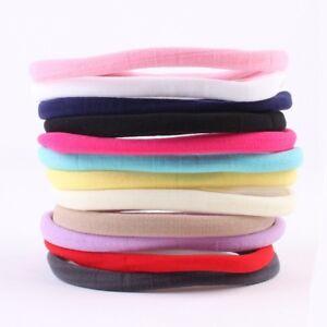 10PCS-Baby-Girl-Headbands-Elastic-Nylon-Kids-Women-Hair-Bands-Rope-Hearwear-Gift