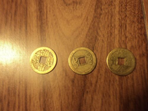 Chinese coins set of 3