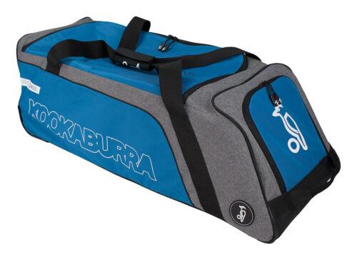 Kookaburra 2018 Pro 2400 Wheelie Cricket Bag 96x36x25cm Grey//Teal