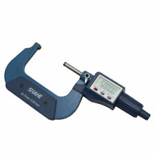 Shahe 50 75mm 0001mm Digital Tube Micrometer With Single Round Head