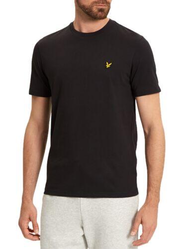 Coton Coupe Pour Cou T Du Rond Noir Uni Lyle Slim Ras Hommes shirt Col Scott XAqwn0IOf