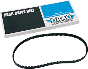 133T for Harley 1204-0051 Drag Specialties Rear Drive Belt 1 1//8in