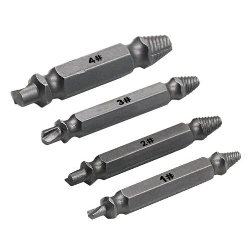 Foresight Set of 4 Stripped Screw NEW Damaged Screw Extractor Right Angle Drill