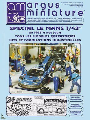 Argus de la Miniature, Spécial 24 Heures du Mans 1/43e