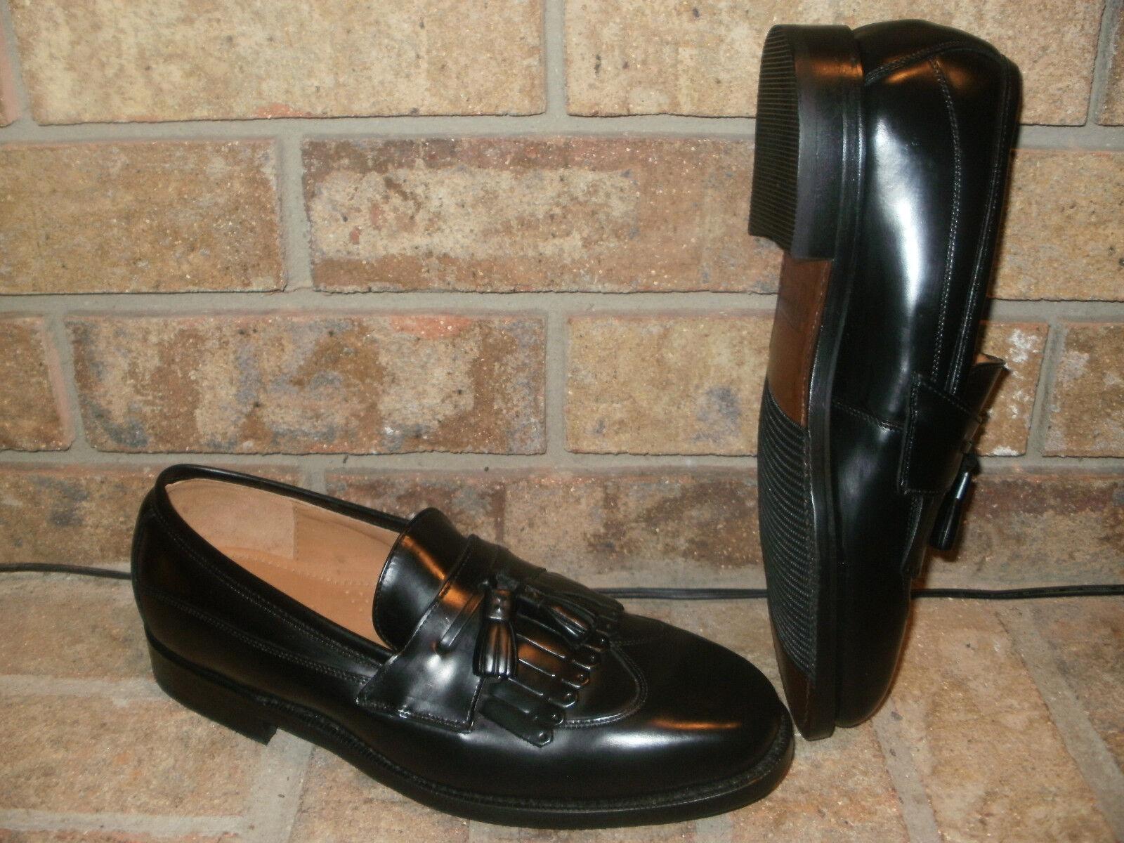 vendita online risparmia il 70% New J Murphy Murphy Murphy nero Leather Tassel Kiltie Loafer 8 D 20-41051  economico e di alta qualità