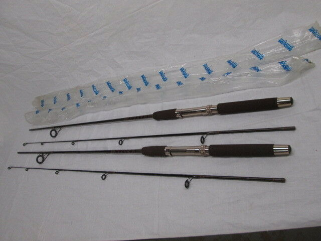 2 Vintage NOS Maxam 3365 6'6  Medium Action Fishing Rods