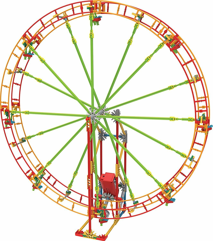 KNEX Revolution Ferris Wheel Building Set Ages 7+ Girls Build Design Fun