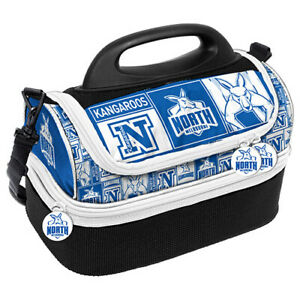 AFL-Lunch-Cooler-Bag-Box-North-Melbourne-Kangaroos-Aussie-Rules-Football