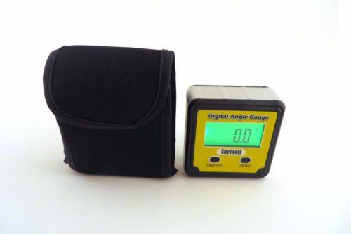 Taytools Angle Cube Digital Level Inclinometer Bevel Box  w// Back Lit Display