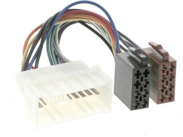 For Hyundai Coupe Gk Elantra Xd 1. Generartion Car Radio Adapter Plug Iso