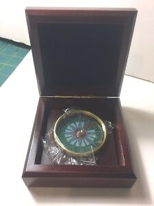Desk Compass - NEW In box with tags