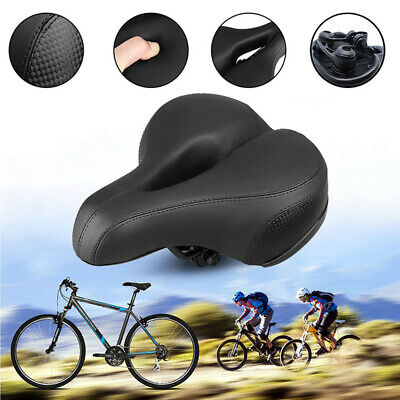 Comfort Wide Cruiser Bike Bicycle Saddle Seat Soft Cushion Pad Breathable US
