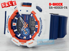 G-SHOCK BRAND NEW WITH TAG G-SHOCK GA-400CS-7A WHITE X BLUE Hyper Colors WATCH