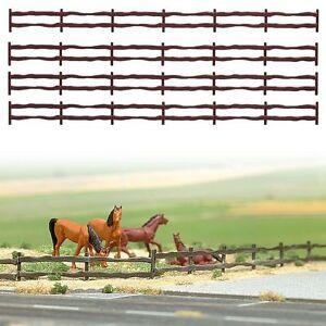 BUSCH-6008-Gauge-H0-Fence-with-Gates-new-original-packaging