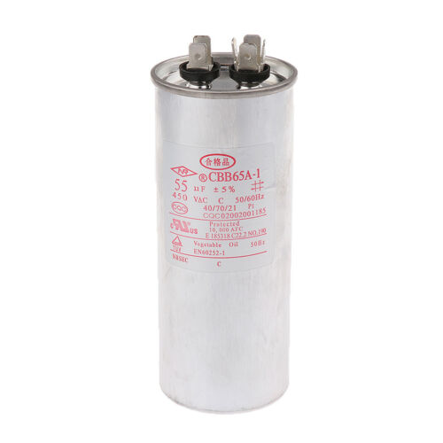 Motor Run Capacitor for Micro motor Water Pump 50UF 450V Motor Start