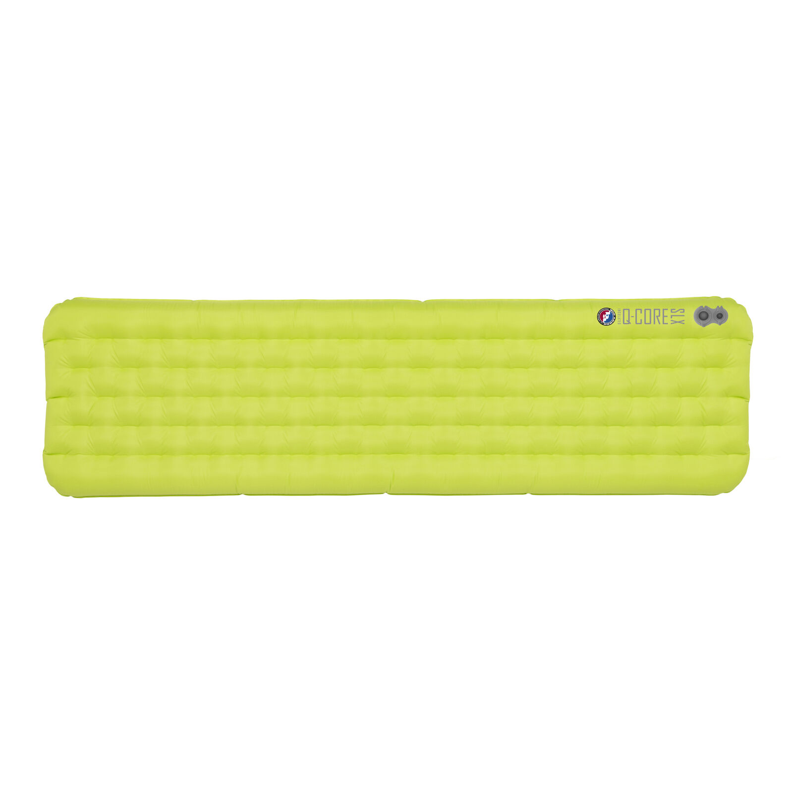 Big Agnes Q Core SLX Sleeping Pad Lime Green Regular (20x72)