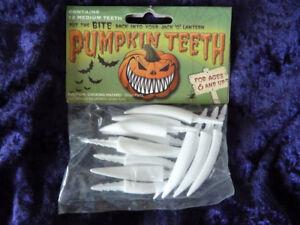 Pumpkin-Teeth-12-Medium-Plastic-Fang-Teeth-Halloween-The-Original-Pumpkin-Teeth