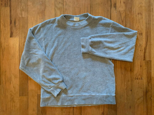 Baserange Cotton Terry Pullover Sweatshirt X-Small