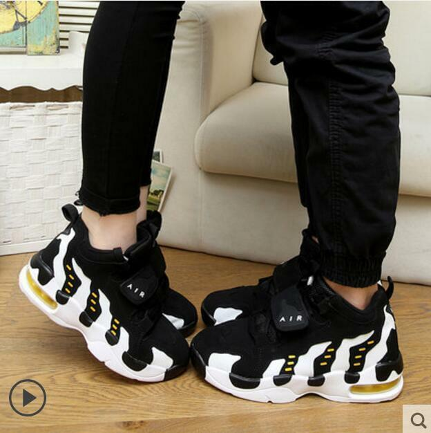 Couples Sports Shoes Men's Casual Women's Running Increased Shoes Leisure