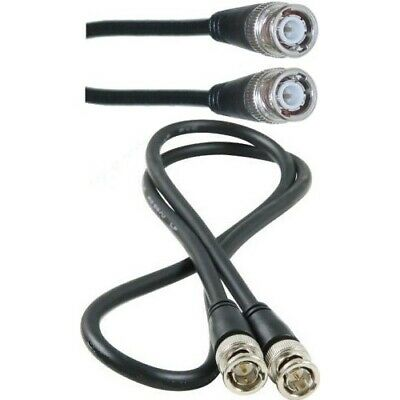 3ft//feet//foot short HD-SDI RG6 Video Cable D BNC Male~M 75ohm 0.9M Cord//Wire