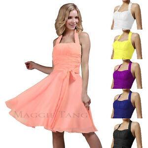 Formal-Bridesmaid-Cocktail-Birthday-Homecoming-Wedding-Prom-Party-Dress-12-Color