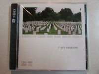 Steve Amerson Blades Of Grass And Pure White Stones 2 Disc Combo Cd/dvd Sealed