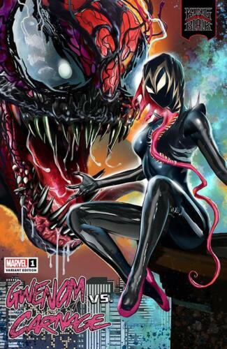 KING IN BLACK GWENOM VS CARNAGE #1 GREG HORN EXCLUSIVE VARIANT SPIDER-MAN VENOM