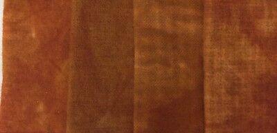 "1 /""Sweet Potato Pie/"" hand dyed rug hooking wool - Fat Quarter 100/% Wool"