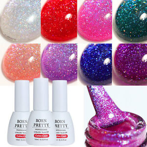 10ml-Born-Pretty-Nail-Art-Holographic-Soak-Off-UV-Gel-Nagellack-UV-LED-Manikuere