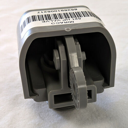 high pressure valve grey 40-80 PSI Miraco replacement valve part number 521