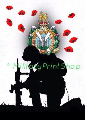 Badged Survival Bracelet Tactical Edge. KOSB Kings Own Scottish Borderers