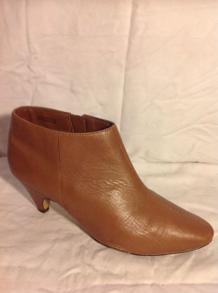 Good For The Sole Brown Ankle Wider Fit Leather Boots Size 5