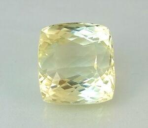Sanft Dsef Certified Triphan : 50.22 Ct Top Hiddenit / Triphan ( Yellow Kunzite ) Modischer (In) Stil;