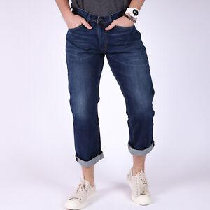 Levi-039-s-559-Relaxed-Straight-dunkelblau-Herren-Jeans-44-32