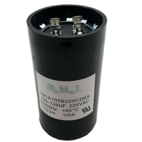 105-126 MFD uF 1.0 1.5 and 2 HP Well Pump Control Box Motor Start Capacitor