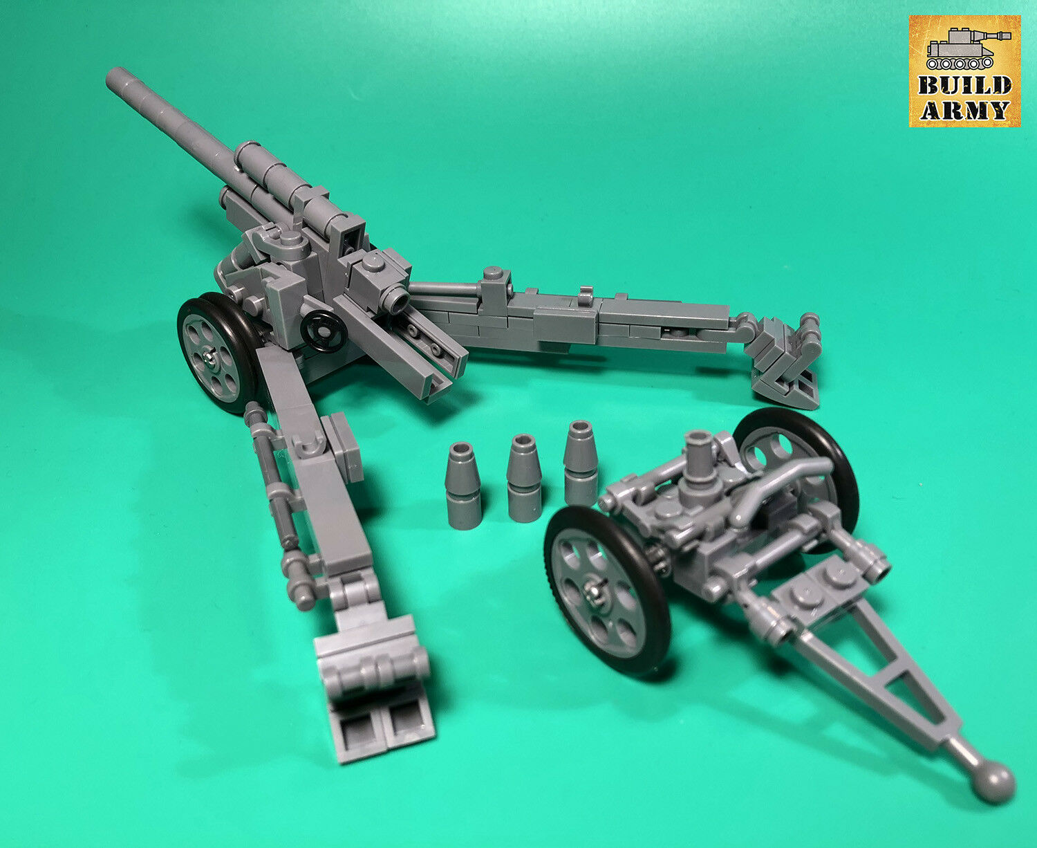 WW2 ALLEMAND AGNM Full Brique Set + instruction par par par buildarmy ® + Gratuit Lego Panel 4e04ce