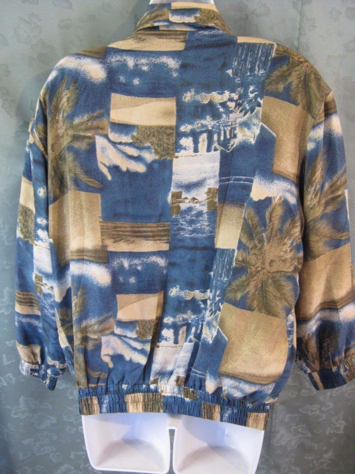 90's FUDA International Silk Bomber Jacket Size S… - image 3