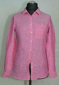Haut-Femme-Next-chemise-tunique-100-lin-Taille-UK-6-8-etiquette-6-excl