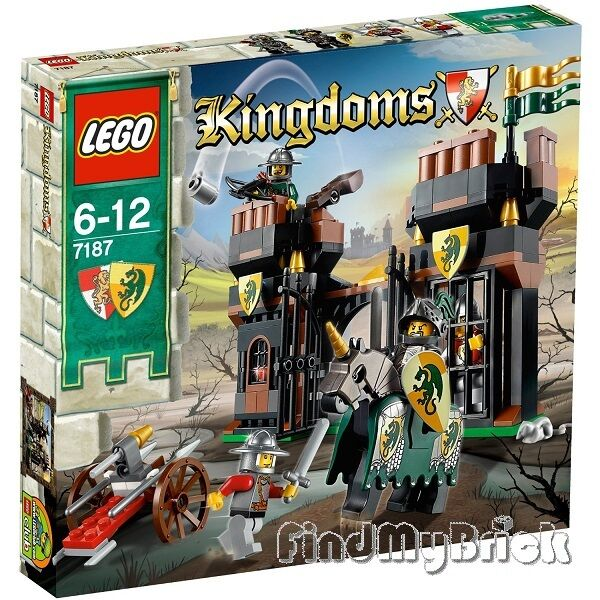 Neuf-LEGO 7187 royaumes Escape from the  Dragon's Prison-SEALED-NEUF  bienvenue à choisir