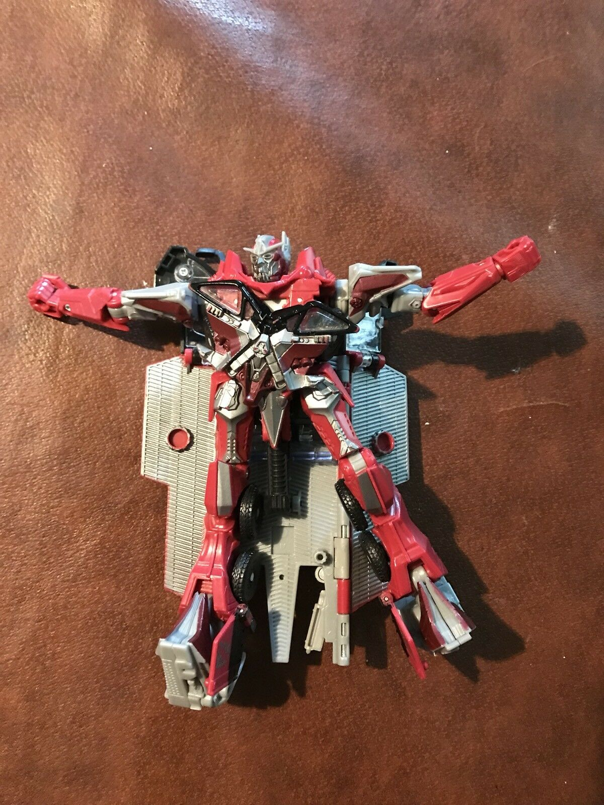 Transformers Fire Rescue Dark of the Moon DOTM Sentinel Prime Figure Leader