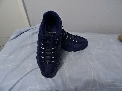 Para Hombre Nike Airmax Azul CueroTextil Zapatos con cordones UK 5.5 muy buen estado   eBay