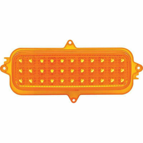 60 61 62 63 64 65 66 Chevrolet Truck LED Amber Parking Light Lens 1 pair amber