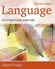 Language : Its Structure and Use by Edward Finegan (2014, Paperback)
