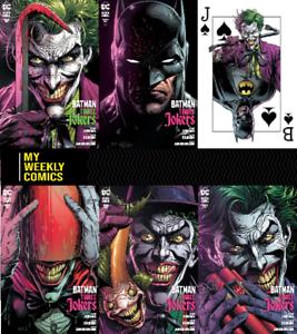 Batman-Three-Jokers-1-2020-DC-Comic-5-Cvr-Set-A-B-C-Promo-94-95-96-97-98-99