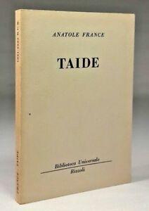 Anatole-France-TAIDE-Rizzoli-BUR-1963
