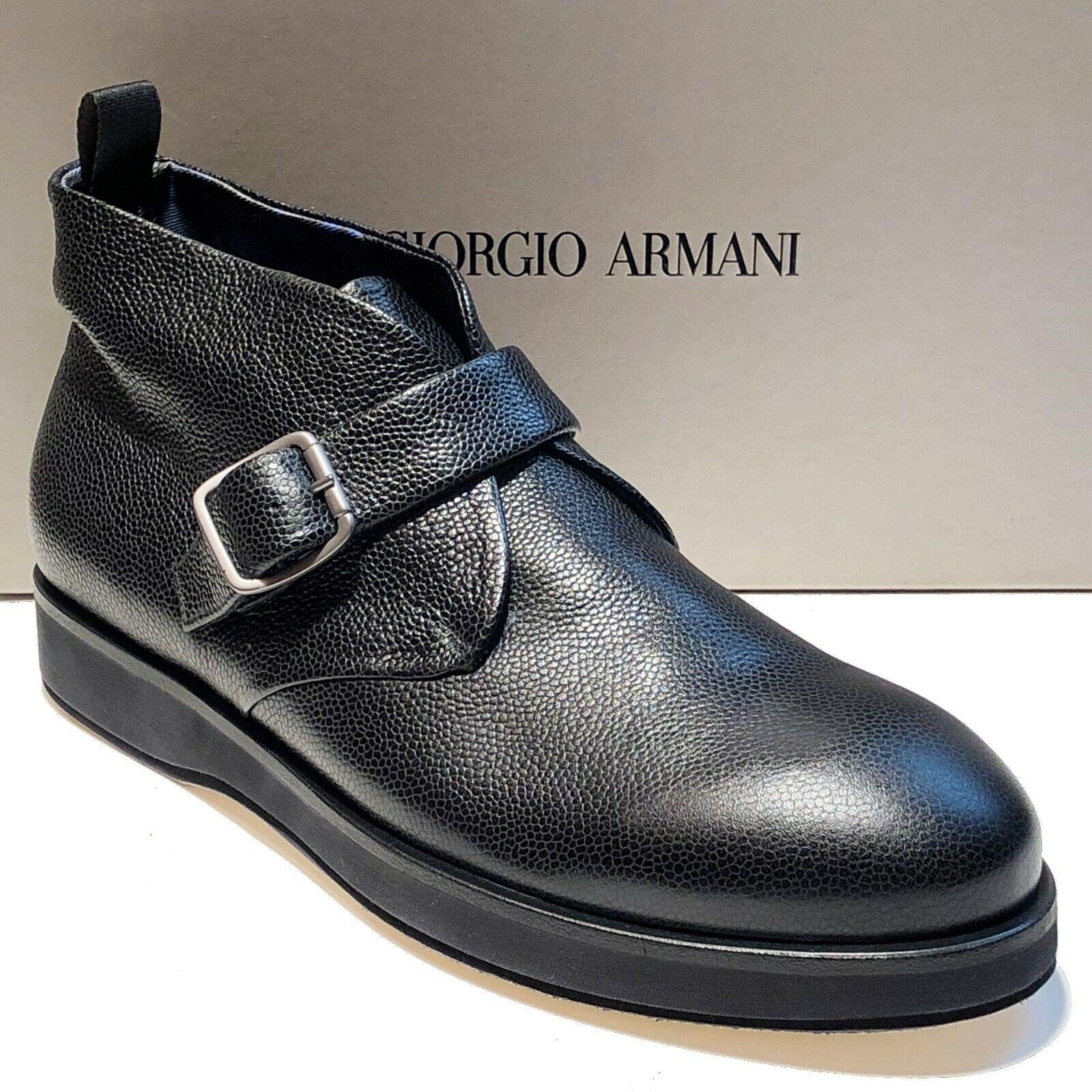 Giorgio Nuevo Negro Armani De Hombre Para Tobillo Al