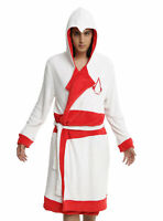 Assassins Creed Hooded Pool Bath Robe Shield Belt Hood Cosplay S/m Embroidered