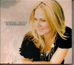 Surrender ( By Heather Henry ) - Music CD - heather henry -   -  - Very Good - A