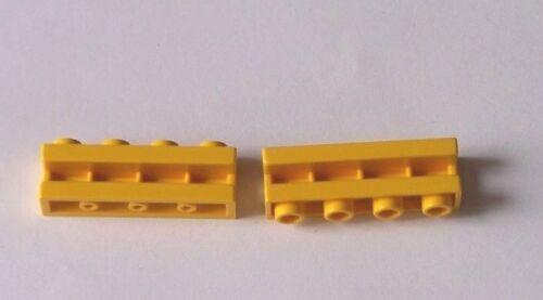 z.B für 4555 1 x 4 Gelb 2653 LEGO®  2 Steine mit Führung 6542 oder 5956